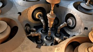 Pistons And Valves by HalTenny