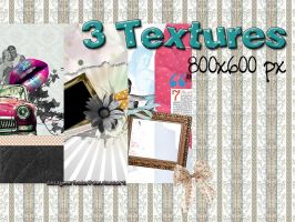 3 TEXTURES RANDOM: 800x600 px by sellyourhate