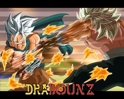 dbz fake fight by DrabounZ