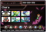Ciara's Trainer Card!! by hurricanestormer