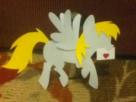 Print and Cut paper Derpy -from template / pattern by plaidsandstripes