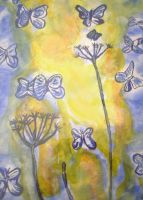 butterfllies in night new by ingeline-art