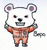 Bepo Chibi by HeavenlyCondemned
