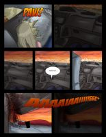 Fifth page of the comic killed by a fridge. by Gerardogarciaro