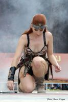 Red Sonja On the Stage of RiminiComix by Evejo