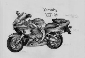 YAMAHA YZF R6 by NamiAngel