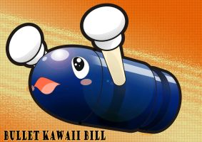 Kawaii Bullet Bill by rollwulf