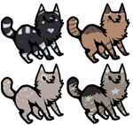10 point adoptables by Those-Adopts-Tho