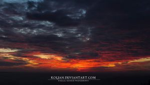 Burning horizon by Koljan