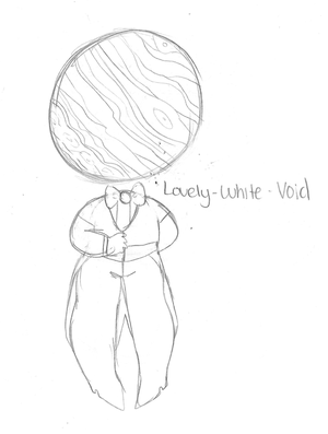 Lovely-White-Void by WaxSeaShells