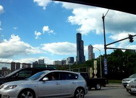 Traveling down Chicago streets by insignificantartist