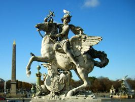 Statues of Paris III. by Tpl-photo