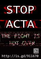 STOP ACTA! by Bugsle