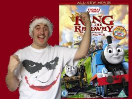 Thomascember King Of The Railway Title Card by Dalek44