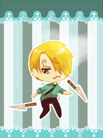 [ONE PIECE] Sweets Sanji by kappakeki