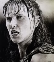 Xena - Raining by amberj8