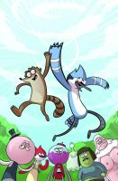 Regular Show COMIC BOOK!!! by Celestial-waters
