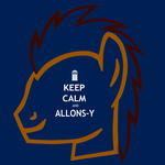 Dr. Whooves: Keep Calm and Allons-Y by Th3m0vingshad0w