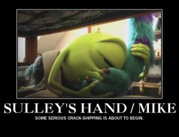 Sulley's Hand / Mike. by DjPavlusha