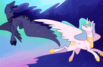 The Sun And The Moon by EllaMRed