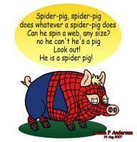 Spider Pig by lu-raziel
