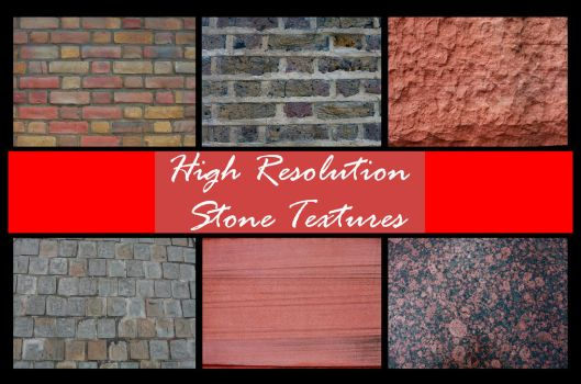 Hi Res Stone Texture Pack by shhhhh-art-Stock