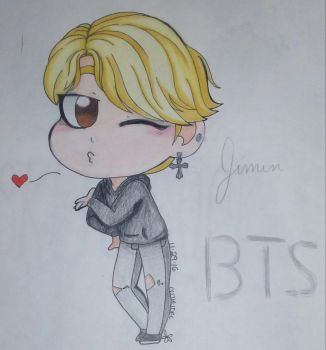 Here ,have a Jimin~! by cutieidel