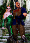 Enchantress and The Executioner by Agr1on