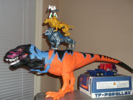 Epic Win of Transformers and Jurassic Park by forever-at-peace