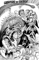 IROKUS 1st appearance in comics 1998 by kaijuverse