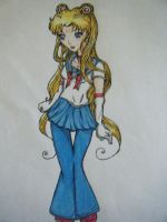 Sailor Moon redesign by Chanee-Dawn
