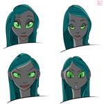 Chrysalis Human Sketches #2 by briar-spark