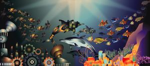 Fiction Vs Fact Underwater by jmanggala