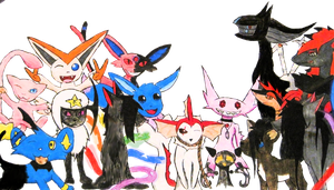 Group Photo by Arceus-sama