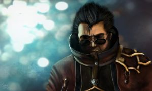 Auron by ChrispyDee