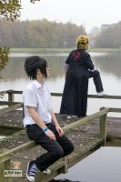 Naruto and Sasuke: distance by AkuroBaisotei