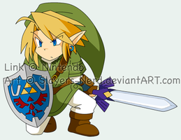 LoZ - chibi Link by midwaymilly