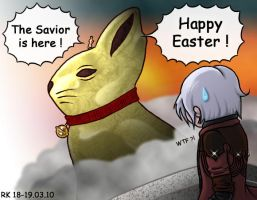Contest 10 - DMC Easter by rorochimaru