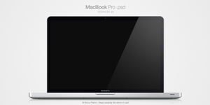 MacBook Pro .psd by Nemed
