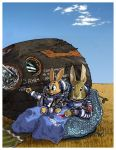 The cosmic lagomorphs by wingsofwrath