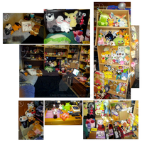 My INSANE Plush Collection by AceAttorneygirl