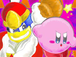 Kirby vs Dadidou by keke74100