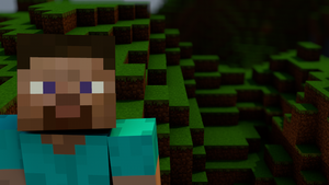 "Minecraft Wallpaper, ""the guy"" by MinecraftPL"
