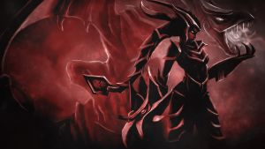 League Of Legends : Shyvana Wallpaper by iamsointense