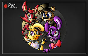 The FNAF Crew (ABC Edition) by Giumbreon4ever