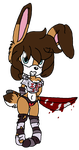 Don't get on this bunny's bad side by 50shadesofPitchBlack