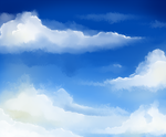 Sky practice by AuraSketches