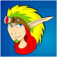 Cel Shaded Jak by LegendaryFrog