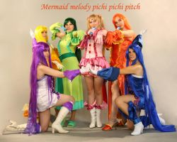 Mermaid make up by Usagi-Tsukino-krv