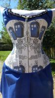 TARDIS corset by Timestitcher